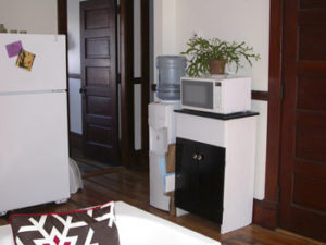 Upstairs Kitchen (Door to Bedroom)
