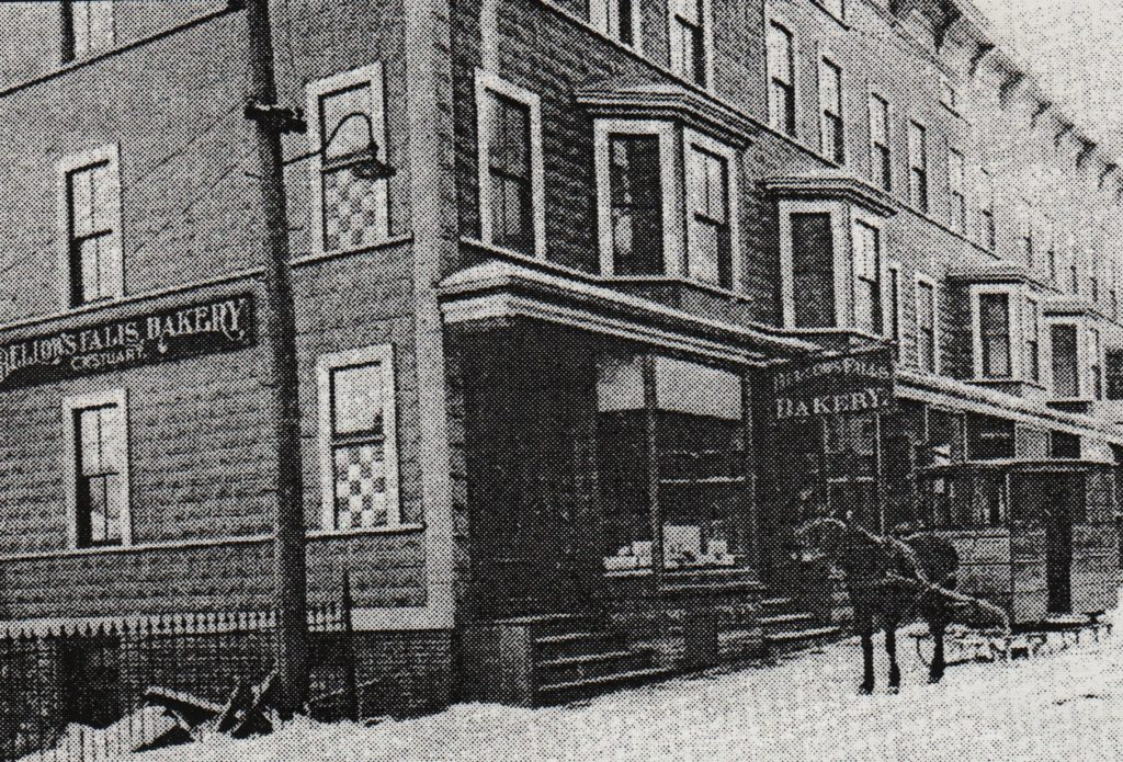 The Exner Block in 1908