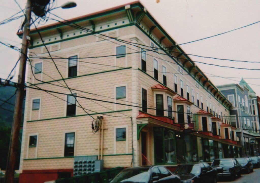 The Exner Block, post-renovation, 2001